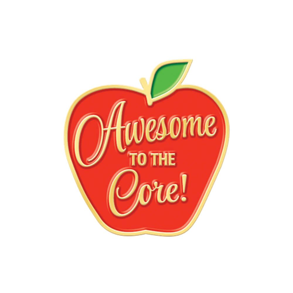 Awesome To The Core! Lapel Pin With Presentation Card