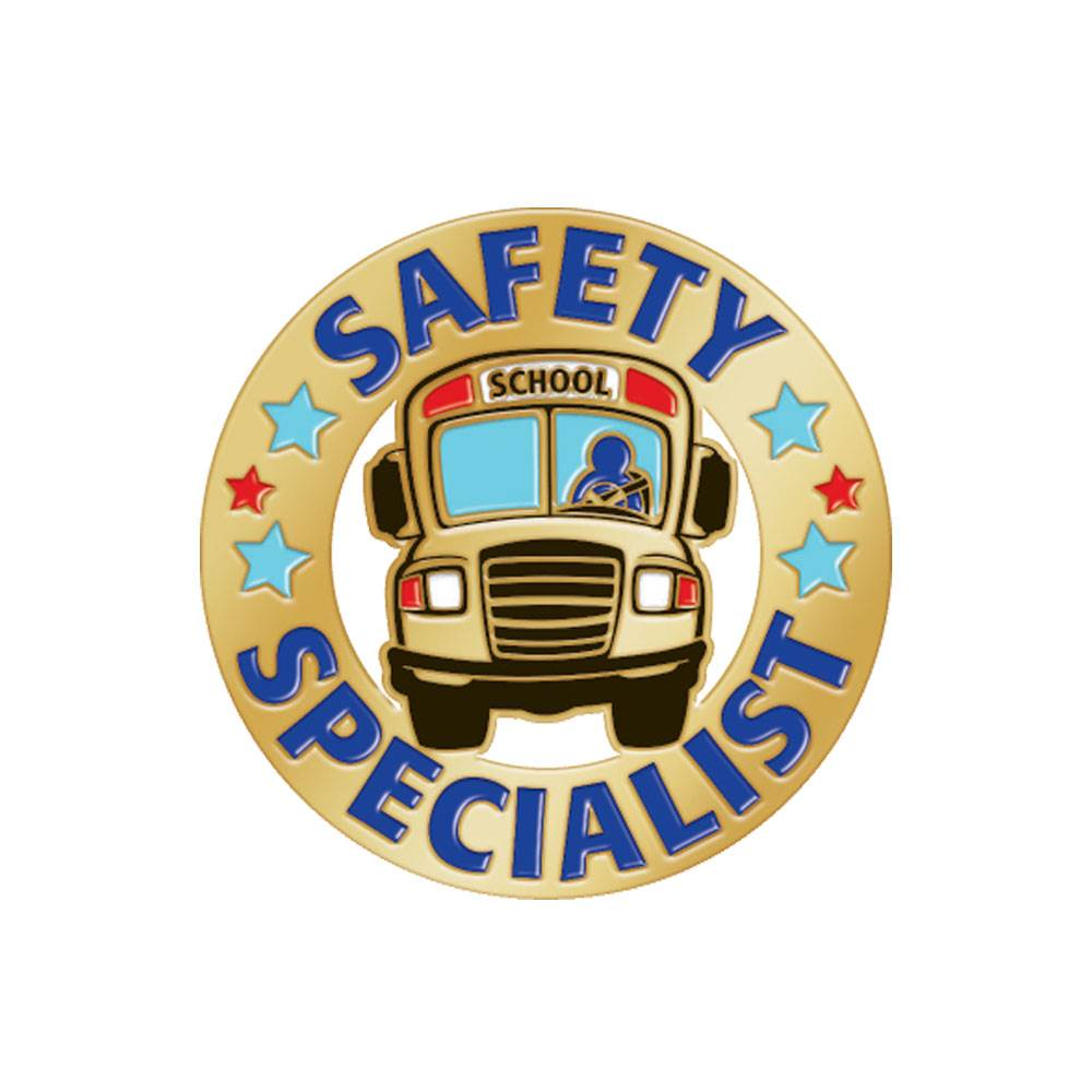 Safety Specialist Lapel Pin With Presentation Card