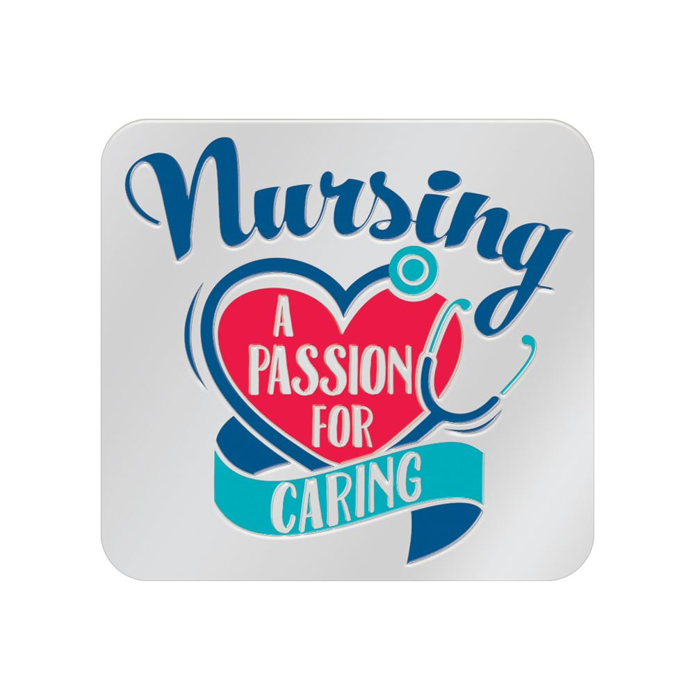 Nurses A Passion For Caring Lapel Pin With Presentation Card