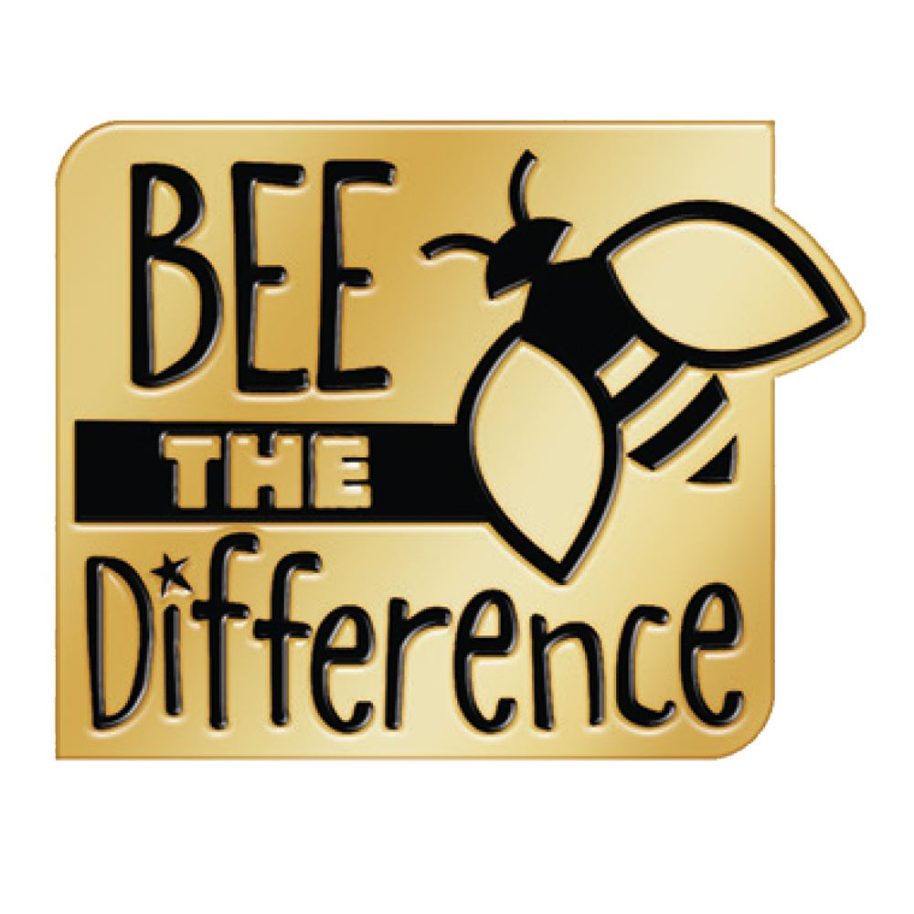 Bee The Difference Lapel Pin With Presentation Card