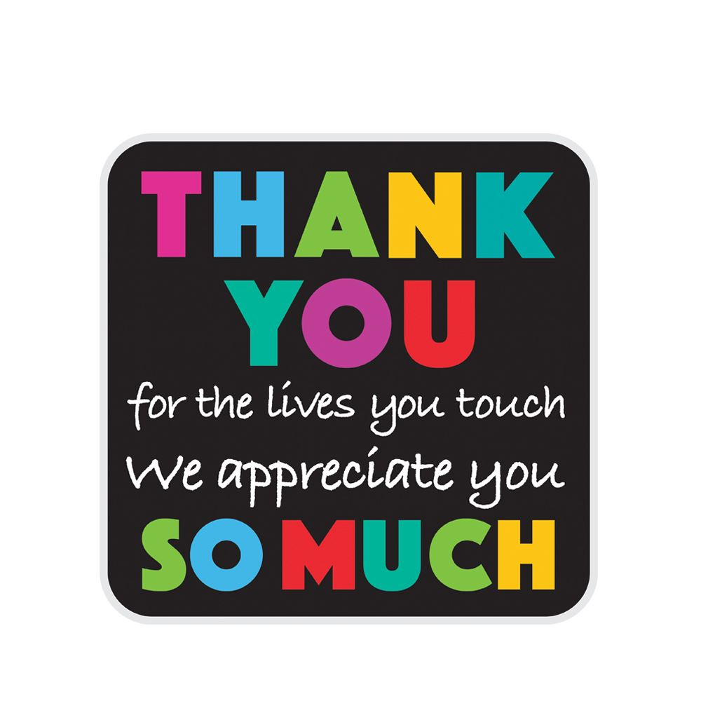 Thank You So Much Lapel Pin With Presentation Card