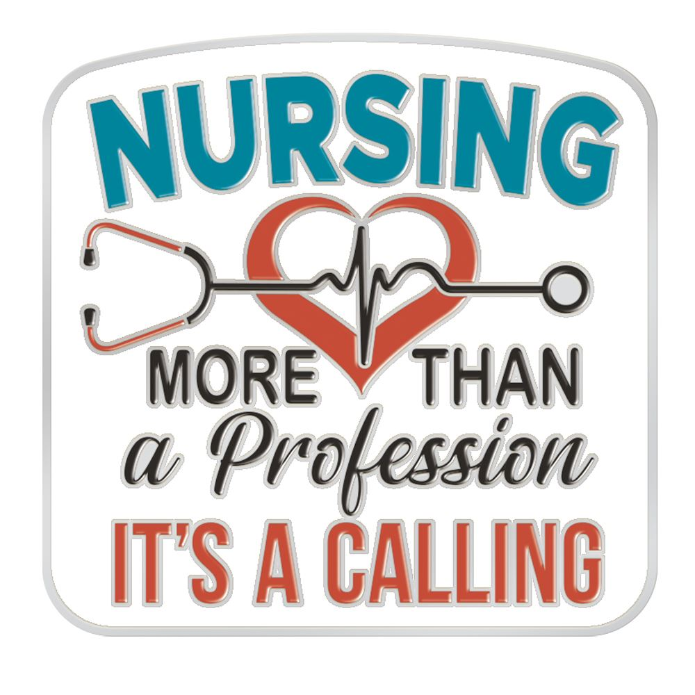 Nursing: More Than A Profession, It's A Calling Lapel Pin With Presentation Card