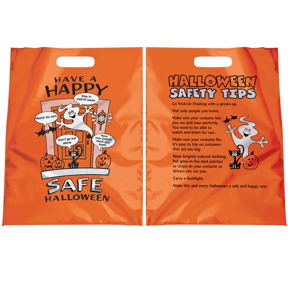 Have A Happy, Safe Halloween Reflective Trick-Or-Treat Bag (Non-Personalized)