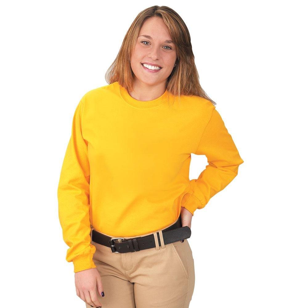 Adult Long-Sleeved 100% Cotton Jersey T-Shirt by Gildan® Silkscreen Personalization Available