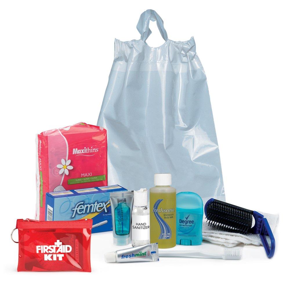 Female 11-Piece Hygiene Kit Combo