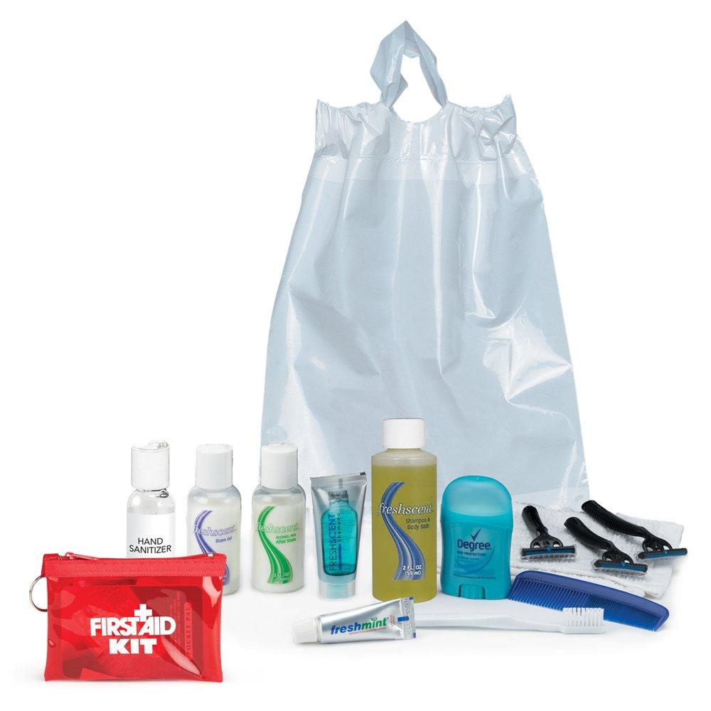 Male 14-Piece Hygiene Kit Combo