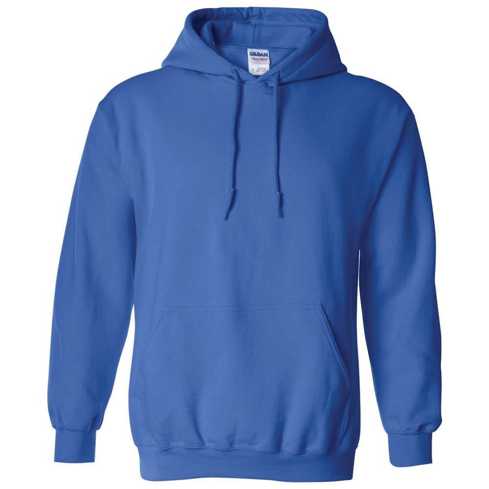 Gildan® Heavy Blend 8-oz. 50/50 Adult Hooded Sweatshirt-Silkscreen Personalization Available