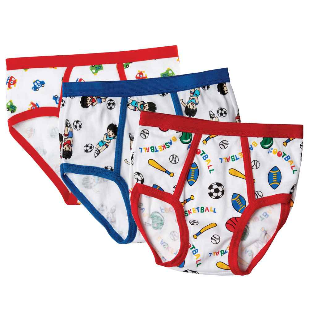 Boys Underwear 3-Pack