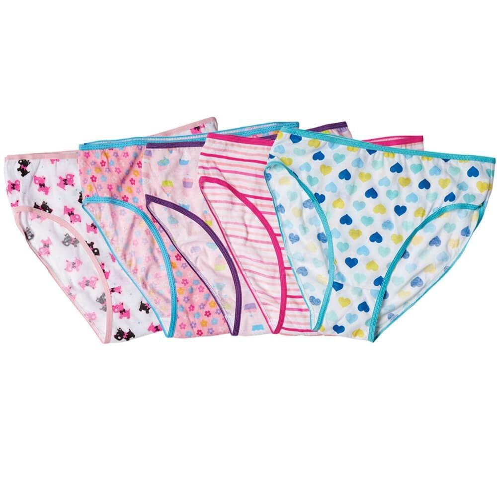 Girls Underwear Assorted 5-Pack