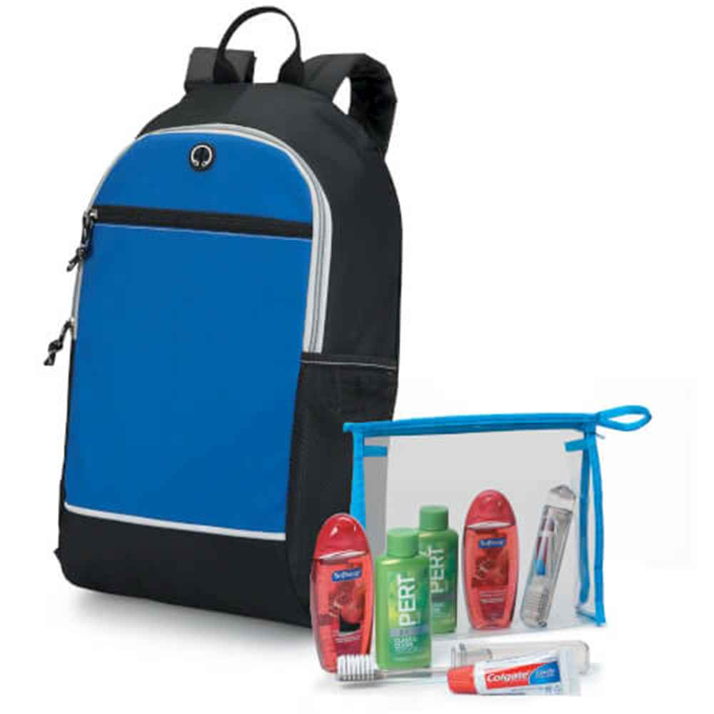 5-Piece Backpack & Hygiene Kit Combo