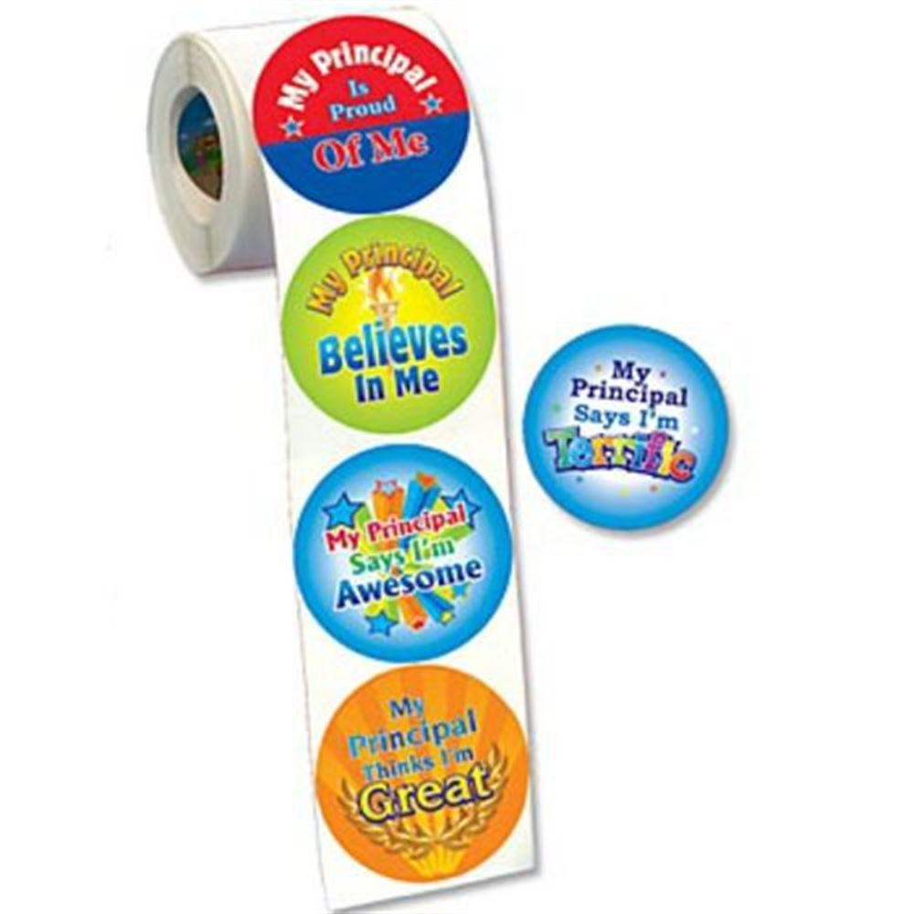 My Principal Assortment Stickers - Roll of 100
