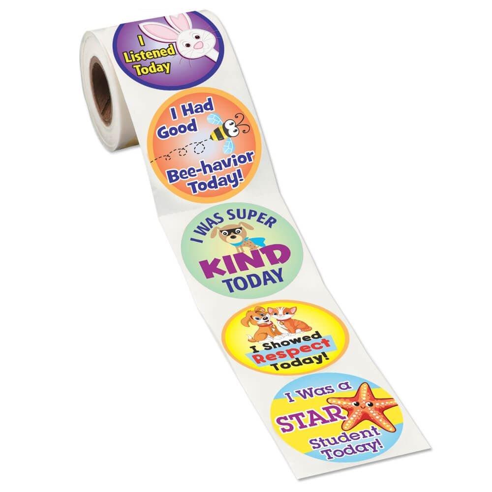 Good Behavior Stickers Roll