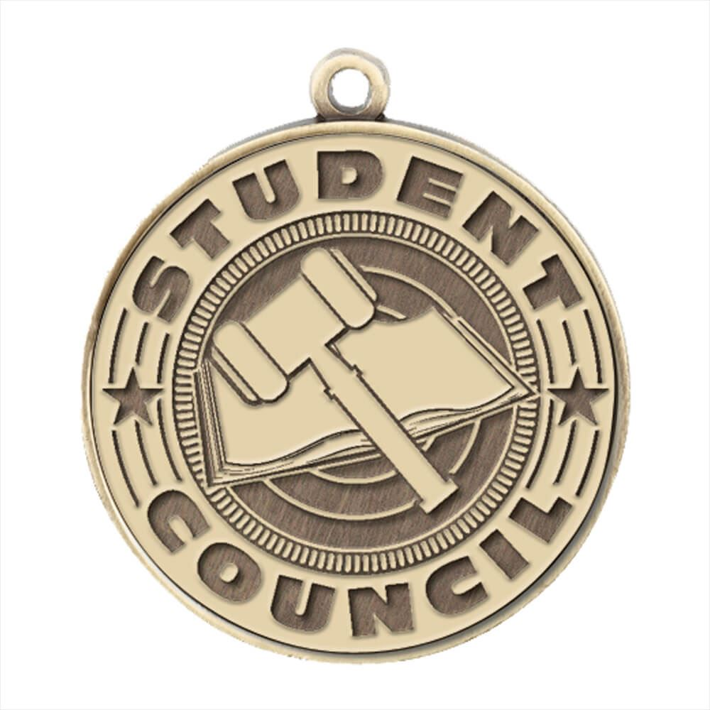 Student Council Gold Academic Medallion