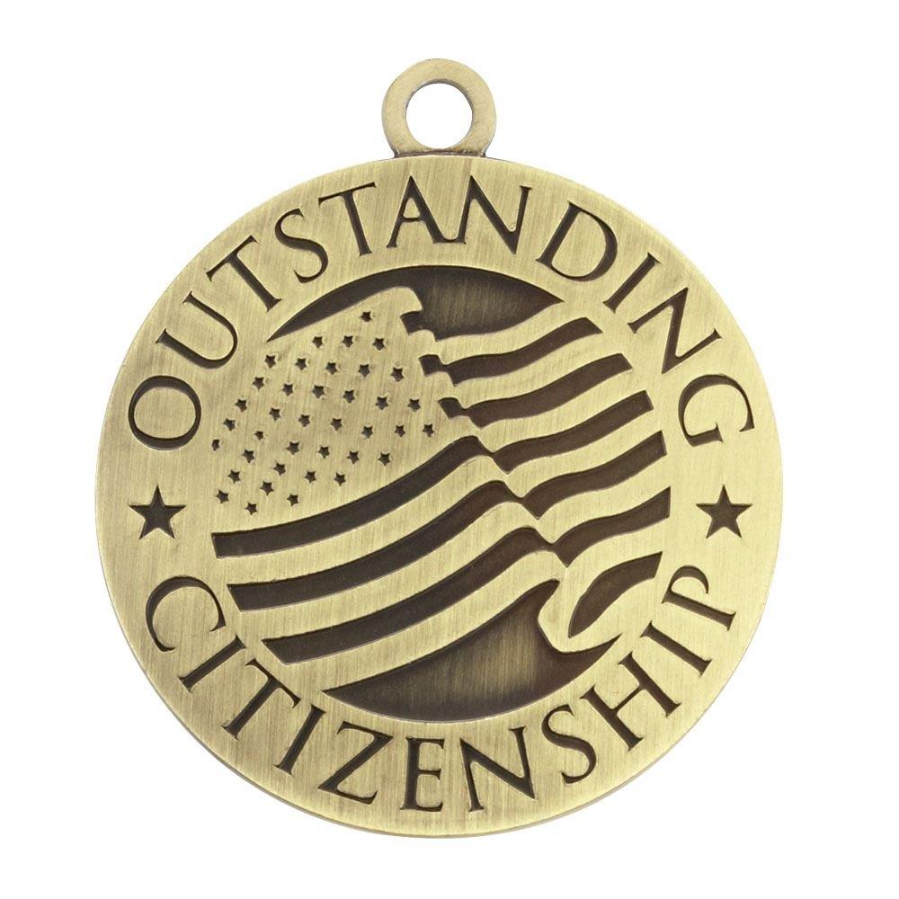 Outstanding Citizenship Gold Academic Medallion