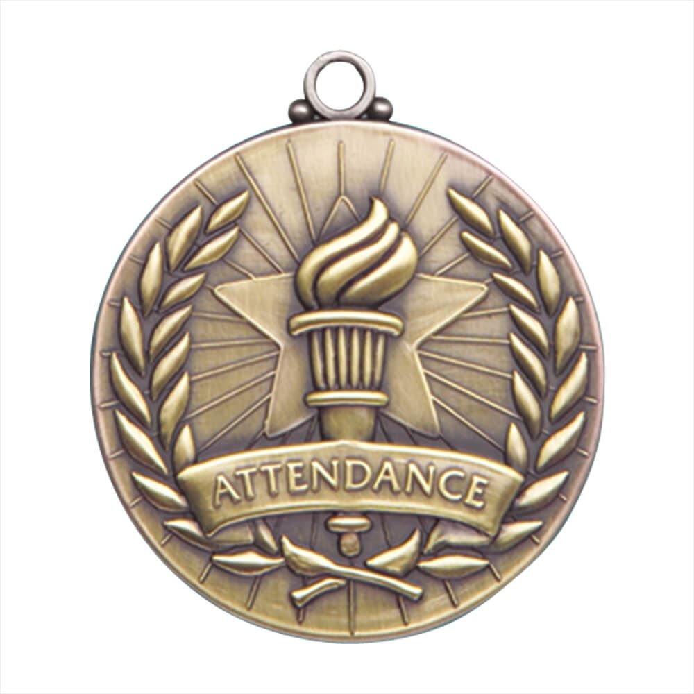 Attendance Gold Academic Medallion