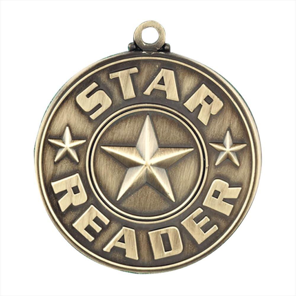 Star Reader Gold Academic Medallion