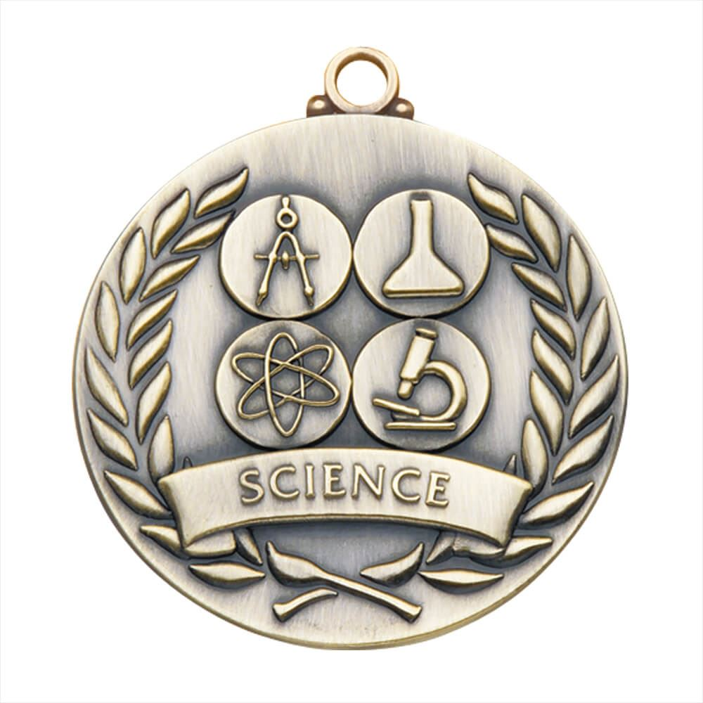 Science Gold Academic Medallion