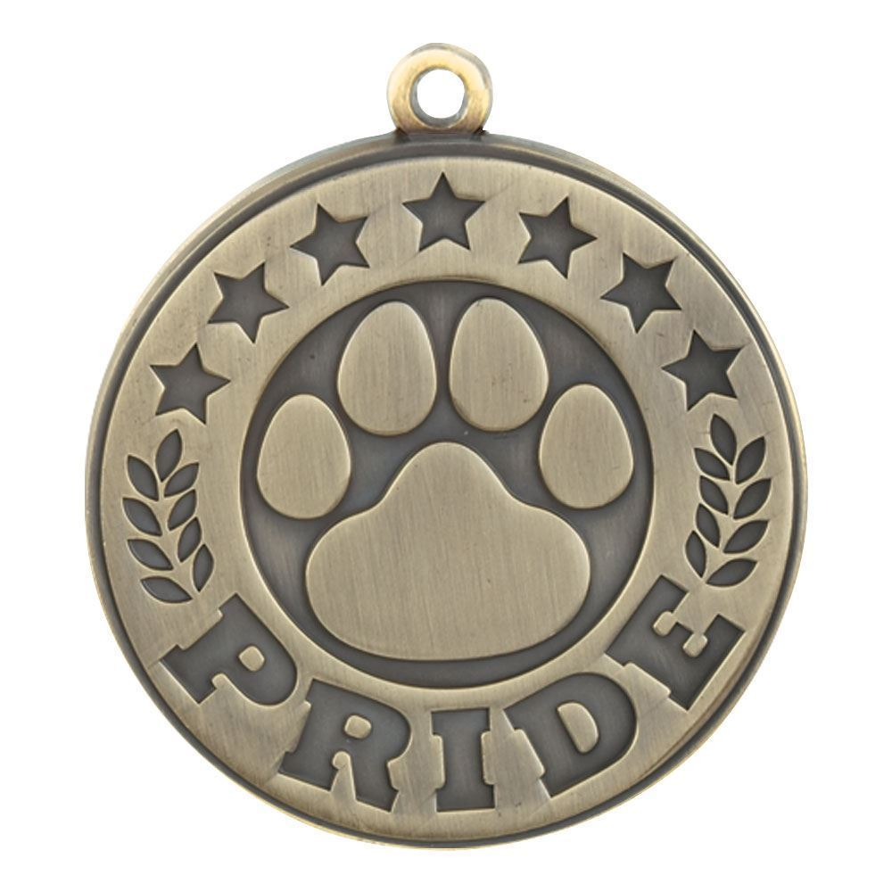 Paw Pride Gold Academic Medallion
