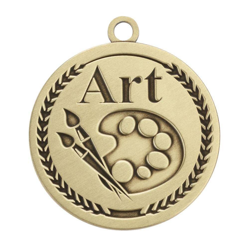 Art Gold Academic Medallions