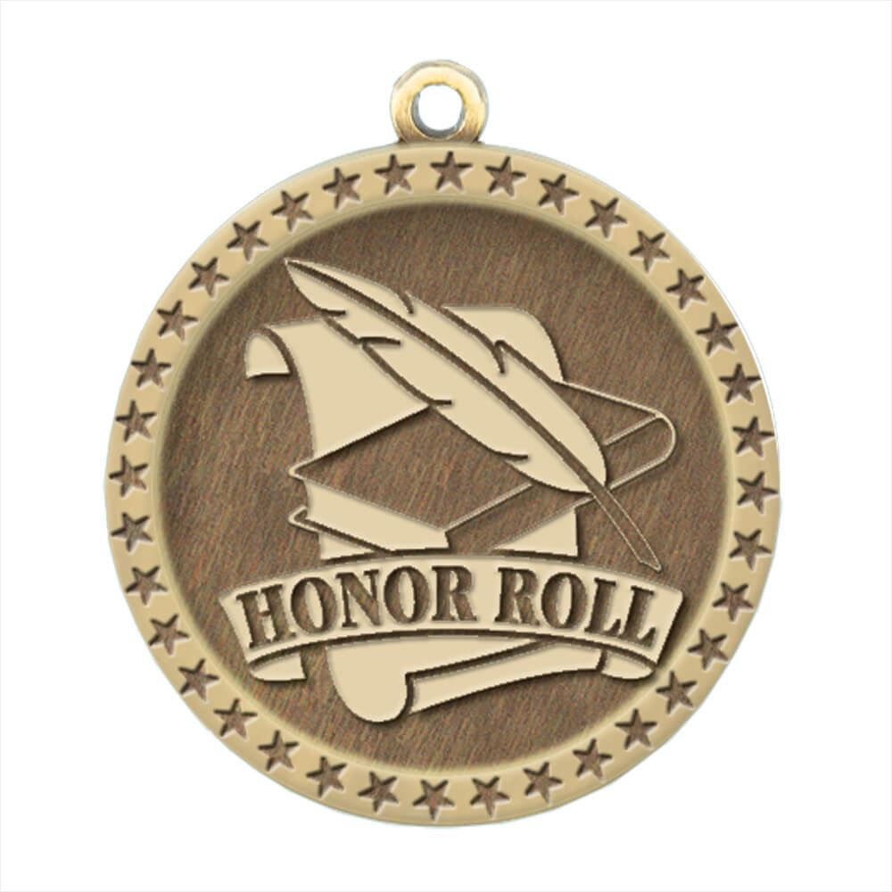 Honor Roll Gold Academic Medallion