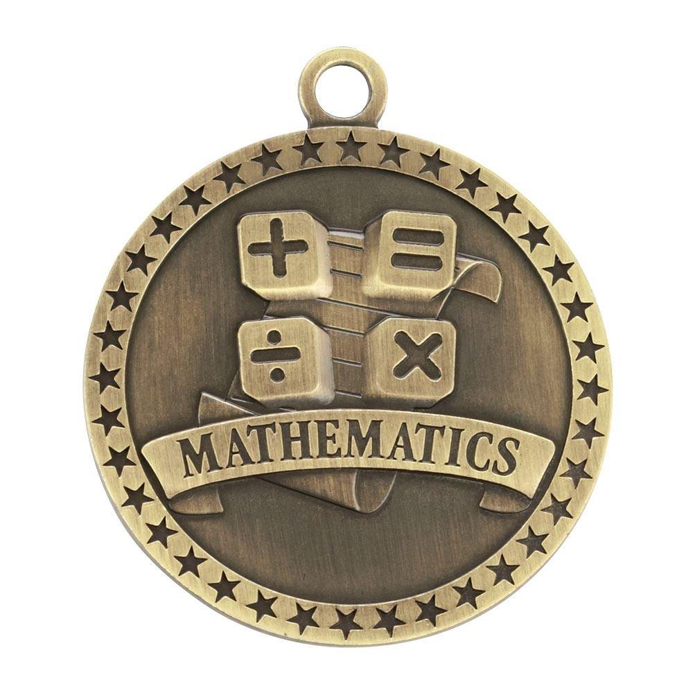 Mathematics Gold Academic Medallion