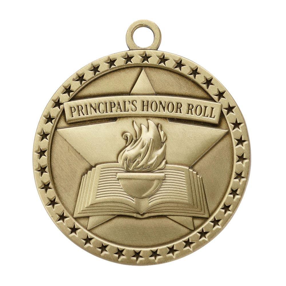 Principal's Honor Roll Gold Academic Medallion