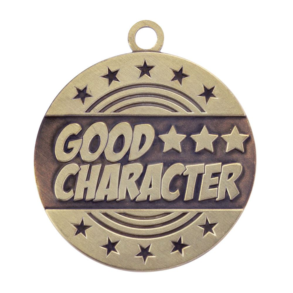 Good Character Gold Academic Medallion