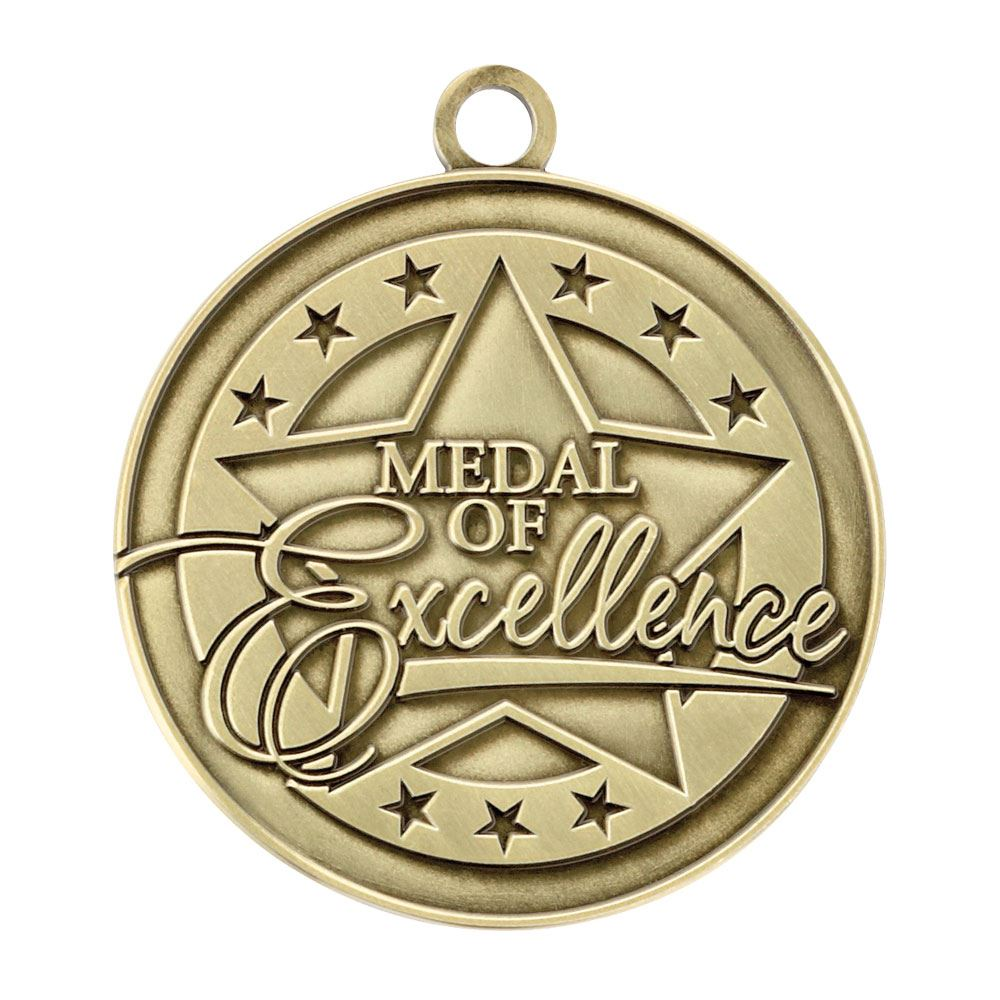 Medal Of Excellence Gold Academic Medallion