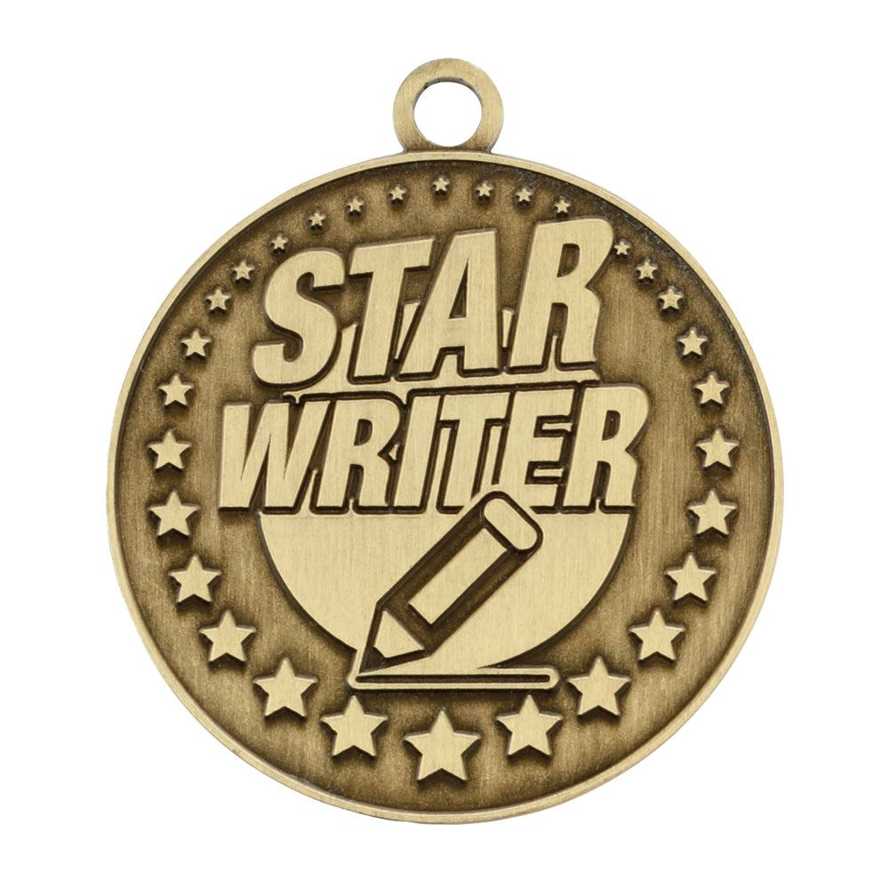 Star Writer Gold Academic Medallion