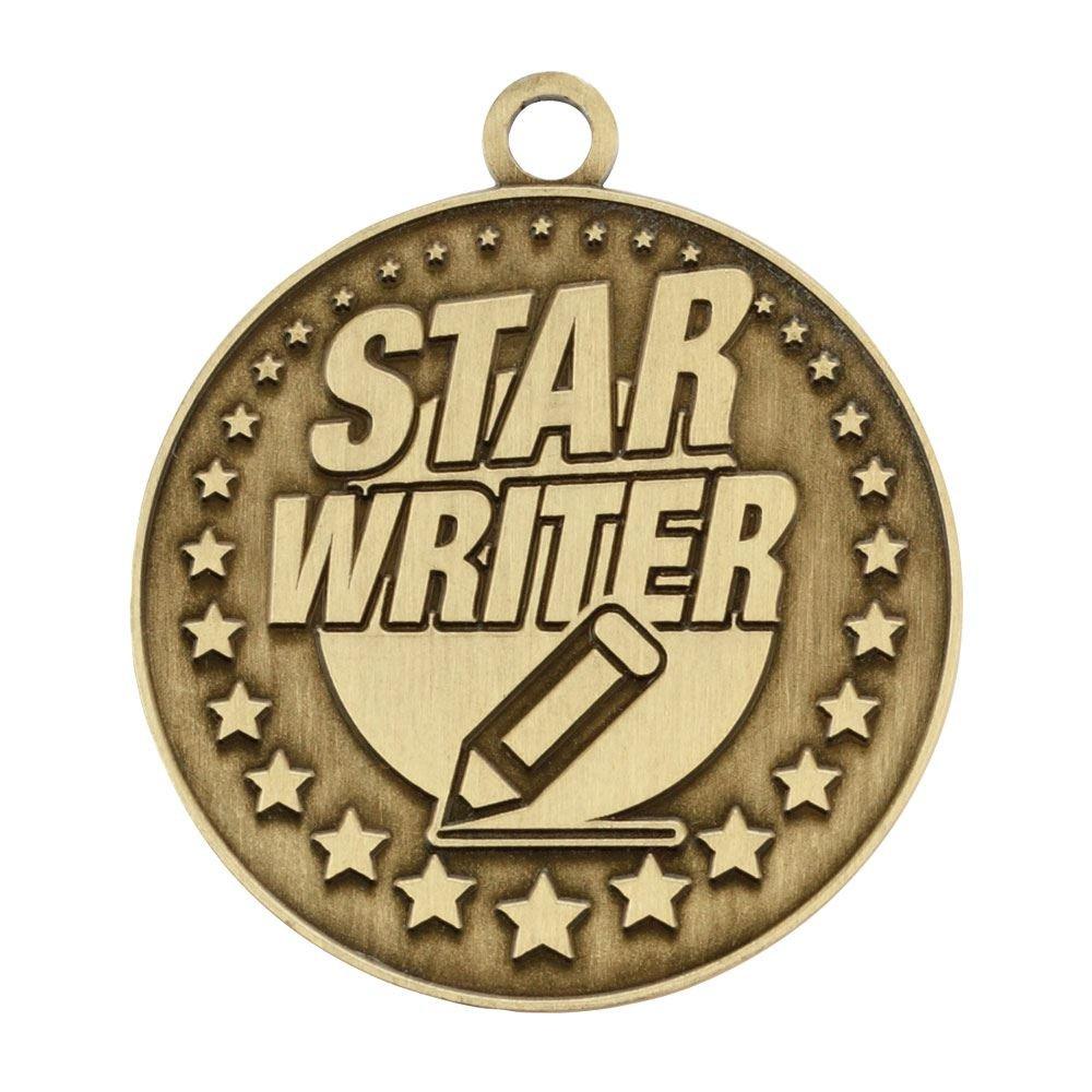 Star Writer Gold Academic Medallion