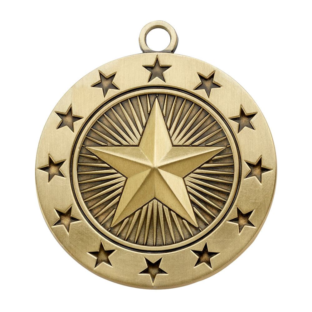 Star Gold Academic Medallion