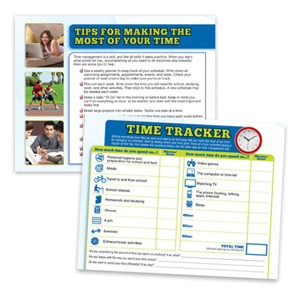 Tips For Making The Most Of Your Time 56-Page Tear Sheet Tablet