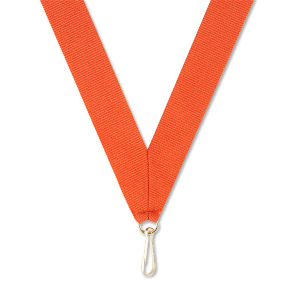 "Orange 30"" Neck Ribbon"