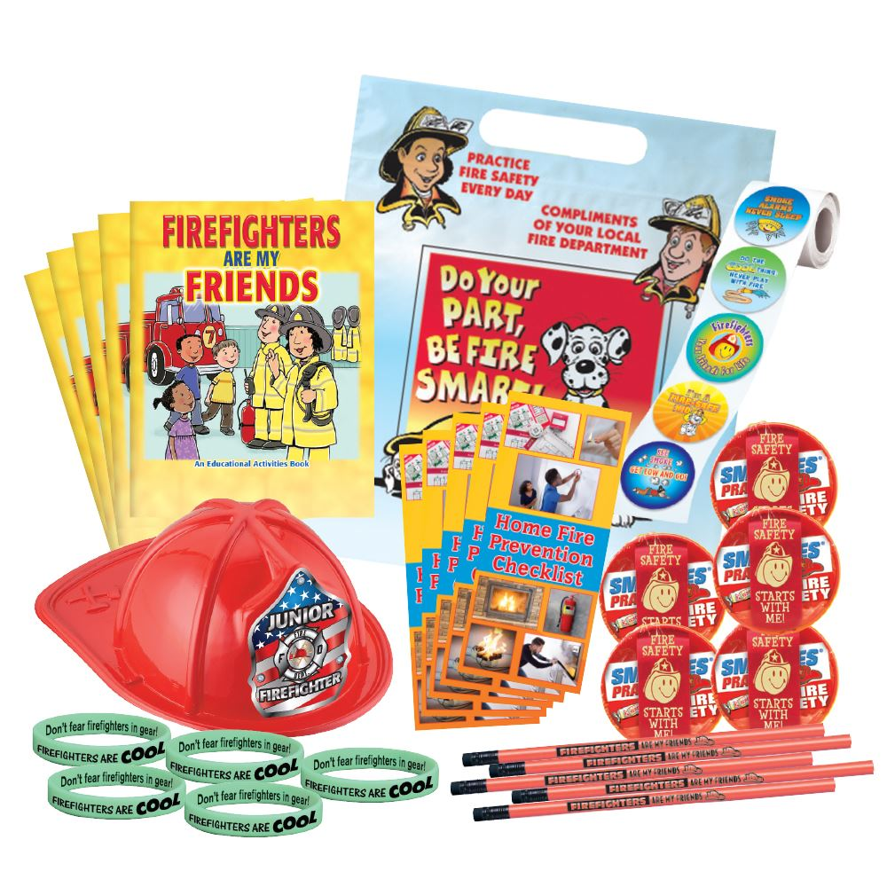 Fire Prevention 900-Piece-Open House Kit