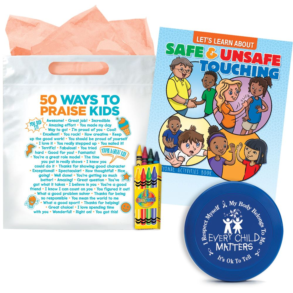 Child Abuse Awareness Value Pack For Children