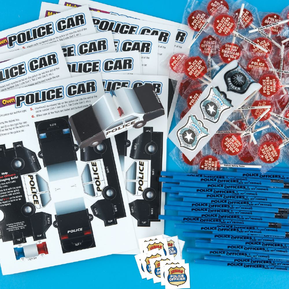 Deluxe Police Department 600-Piece Open House Kit