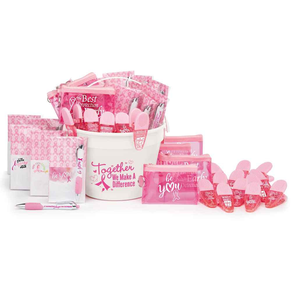 106-Piece Breast Cancer Awareness Essentials Fundraising Kit