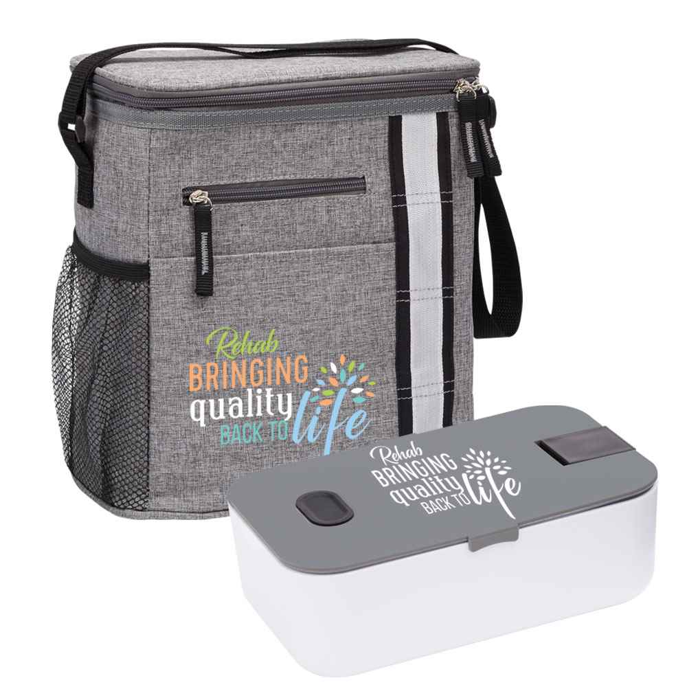 Rehab: Bringing Quality Back To Life Westbrook Lunch/Cooler Bag & Food Container Gift Set