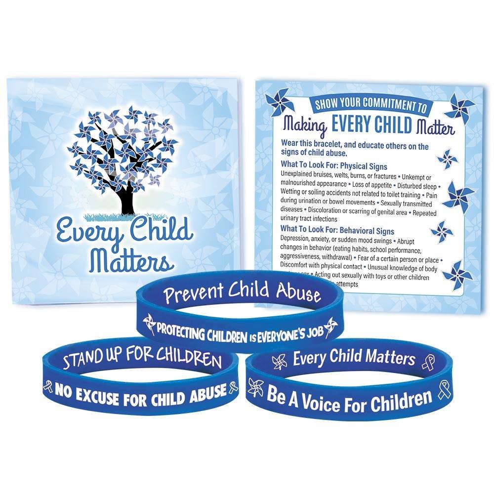 Awareness Silicone Bracelet 30-Piece Assortment Pack