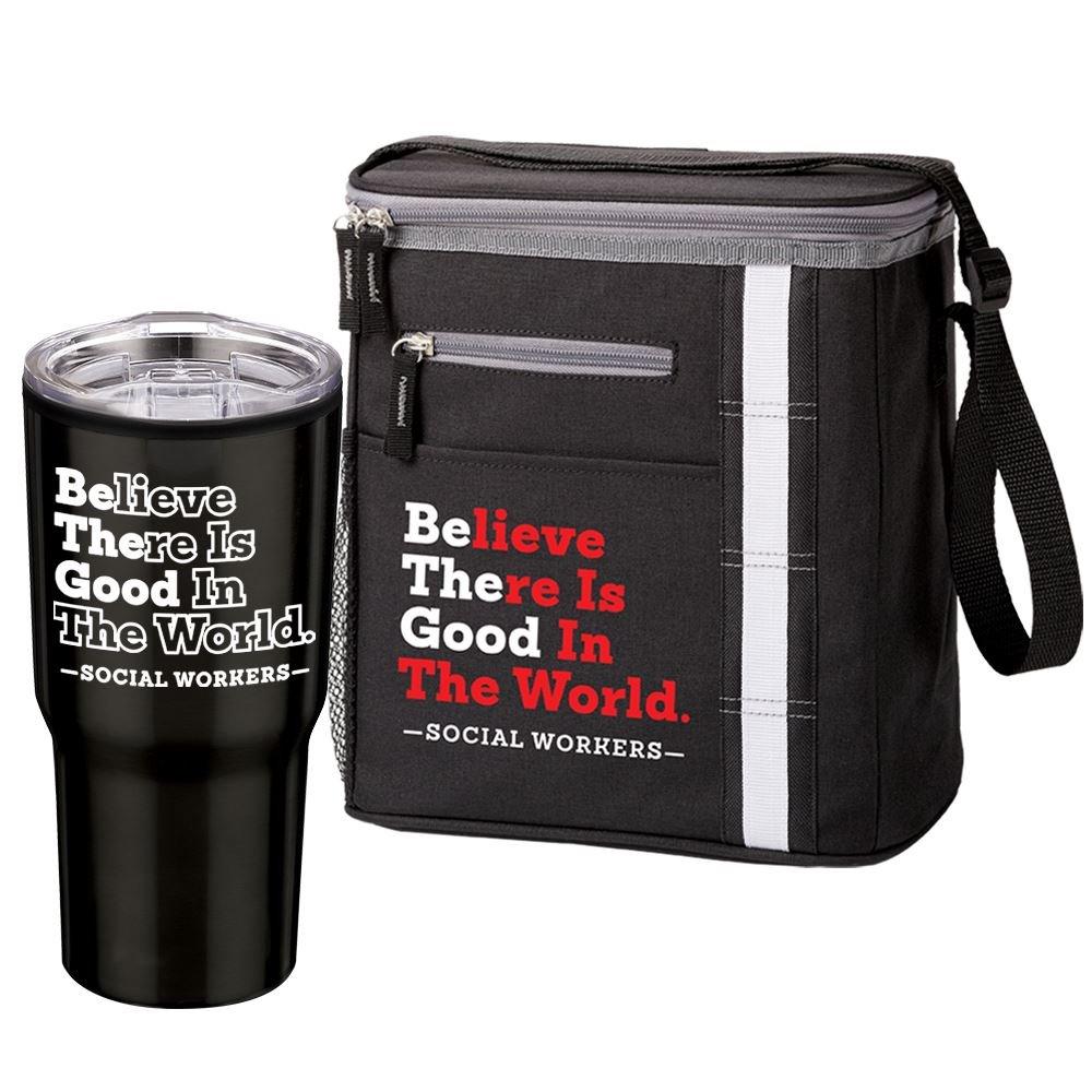 Be The Good Timber Tumbler & Westbrook Lunch/Cooler Bag Gift Set