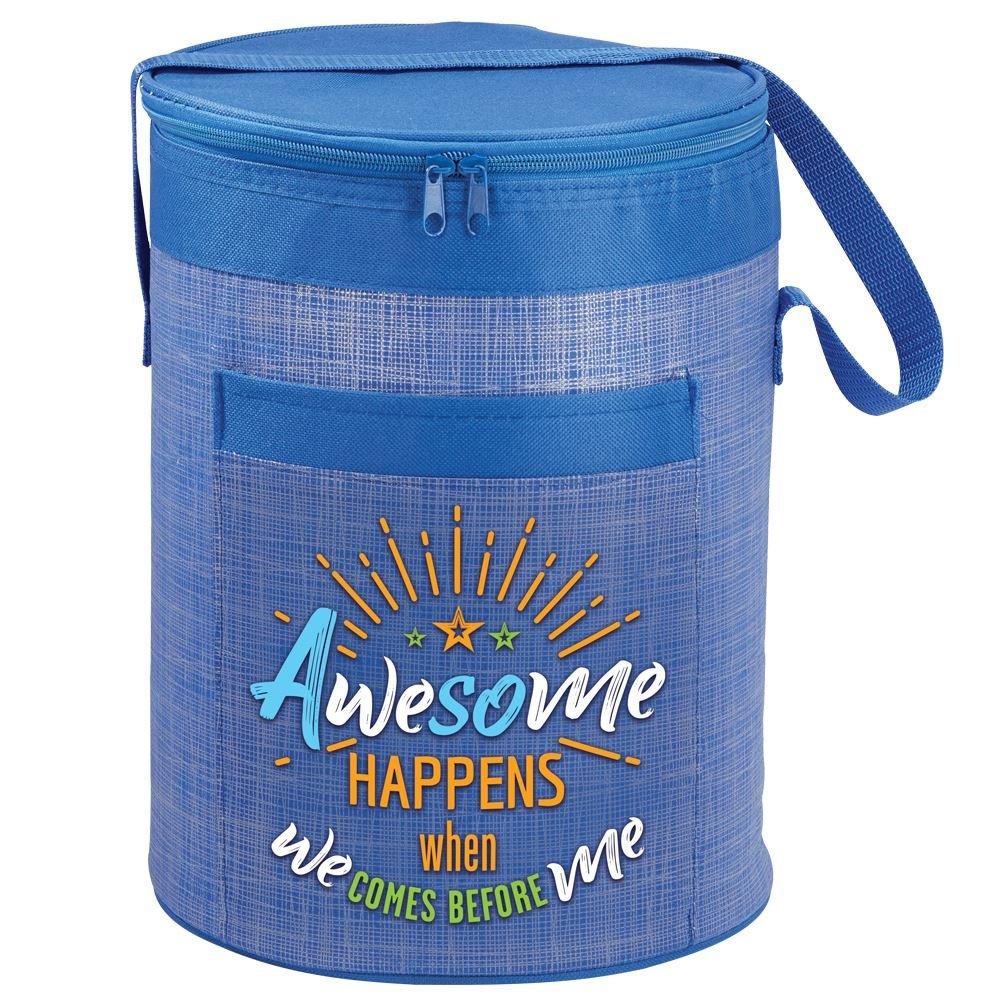Brookville Barrel Cooler Bag & Lakewood Stainless Steel Water Bottle Gift Combo
