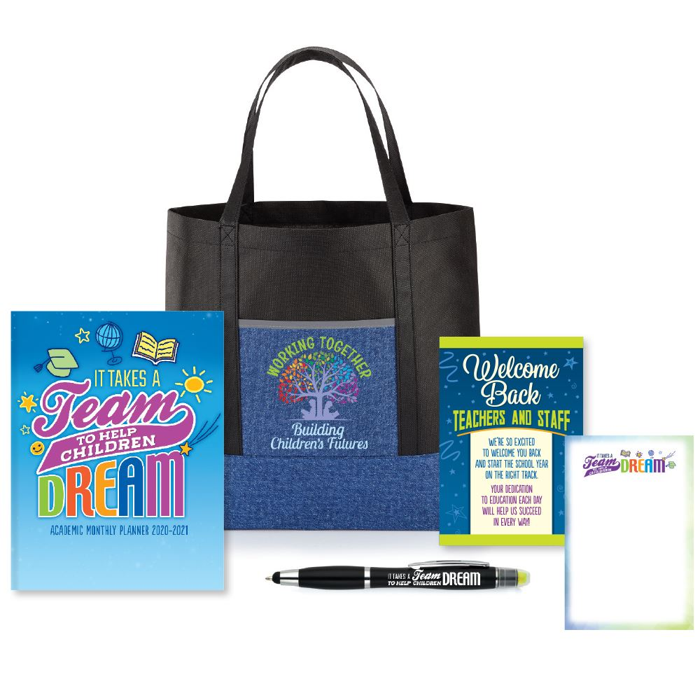 It Takes A Team To Help Children Dream Welcome Back Bag Supply Kit #1