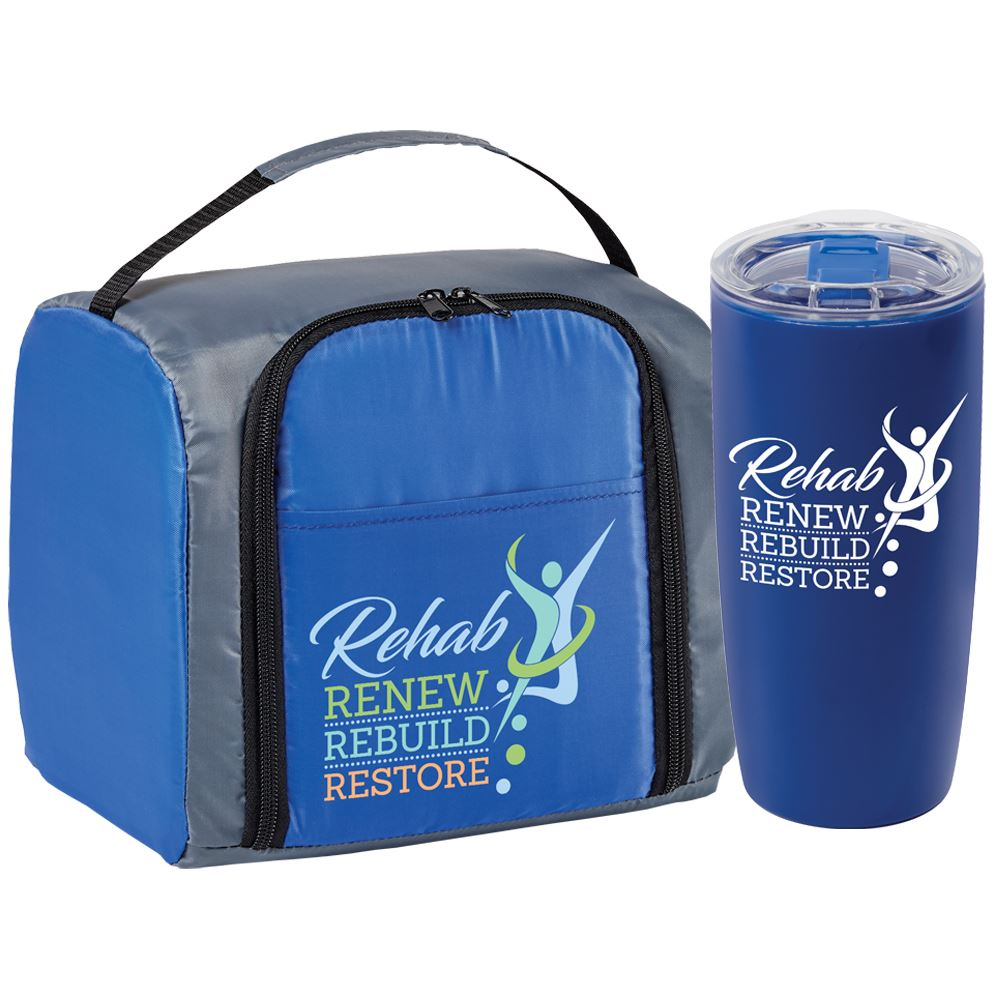 Rehab: Renew, Rebuild, Restore Springfield Lunch/Cooler Bag & Sierra Tumbler Combo