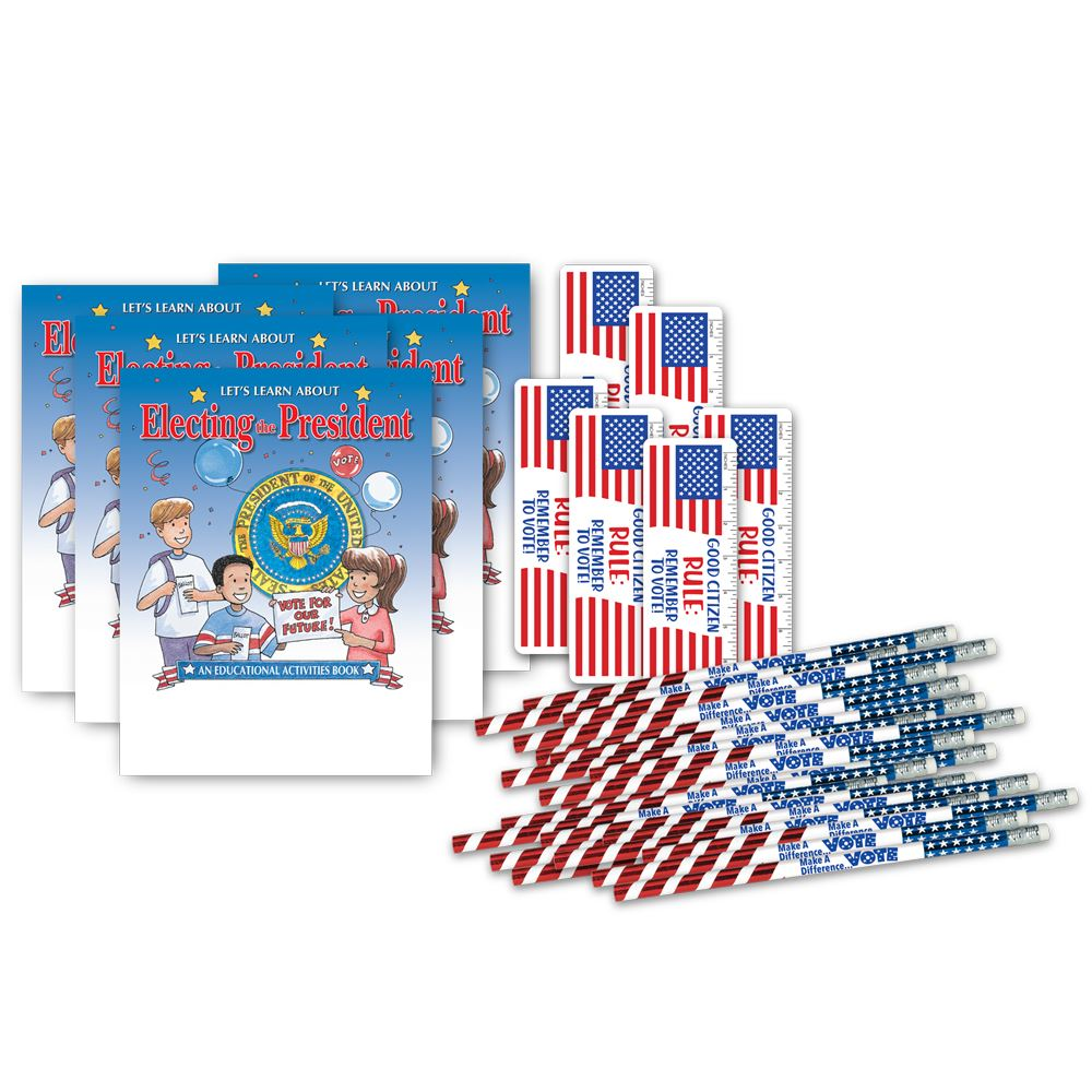 Election Theme 75-Piece Assortment Pack