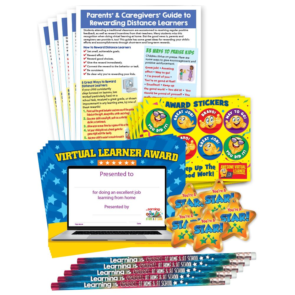 Parent-Student Reward Kit - Classroom Pack - For 25 Students