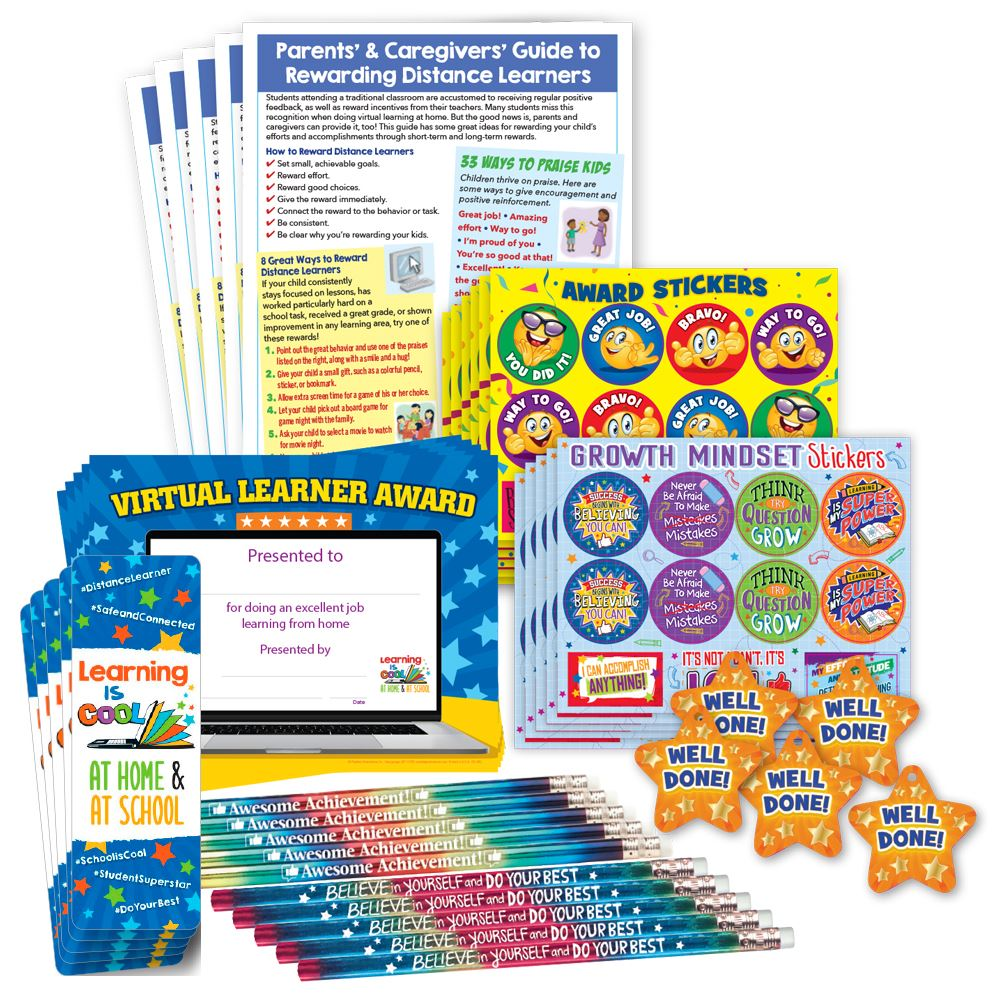 Parent-Student Deluxe Reward Kit - Classroom Pack - For 25 Students