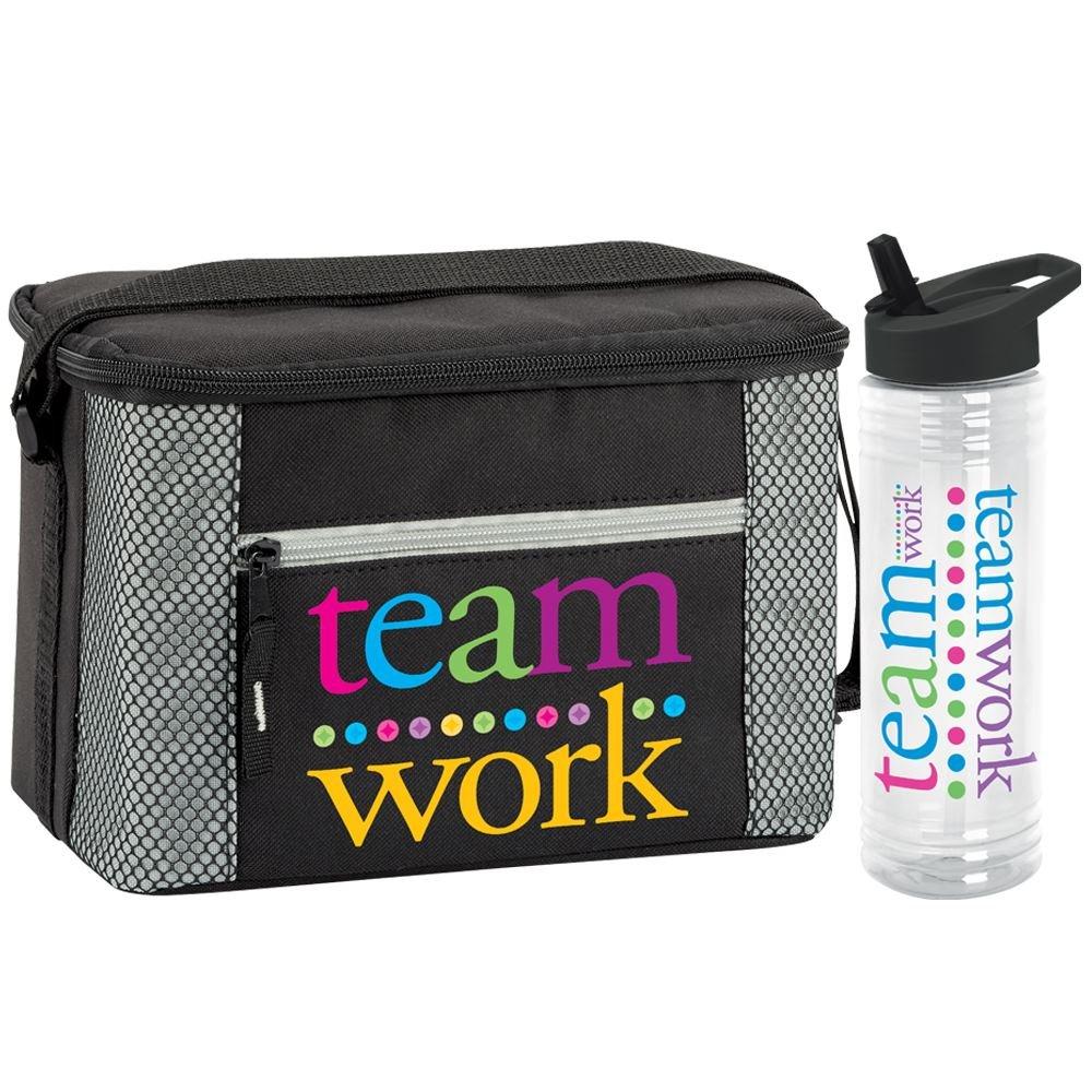 Teamwork Solara Water Bottle & Atlantic Lunch/Cooler Bag Gift Set