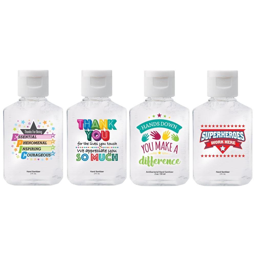 2-Oz. Hand Sanitizer Gel 4-Piece Appreciation Sets