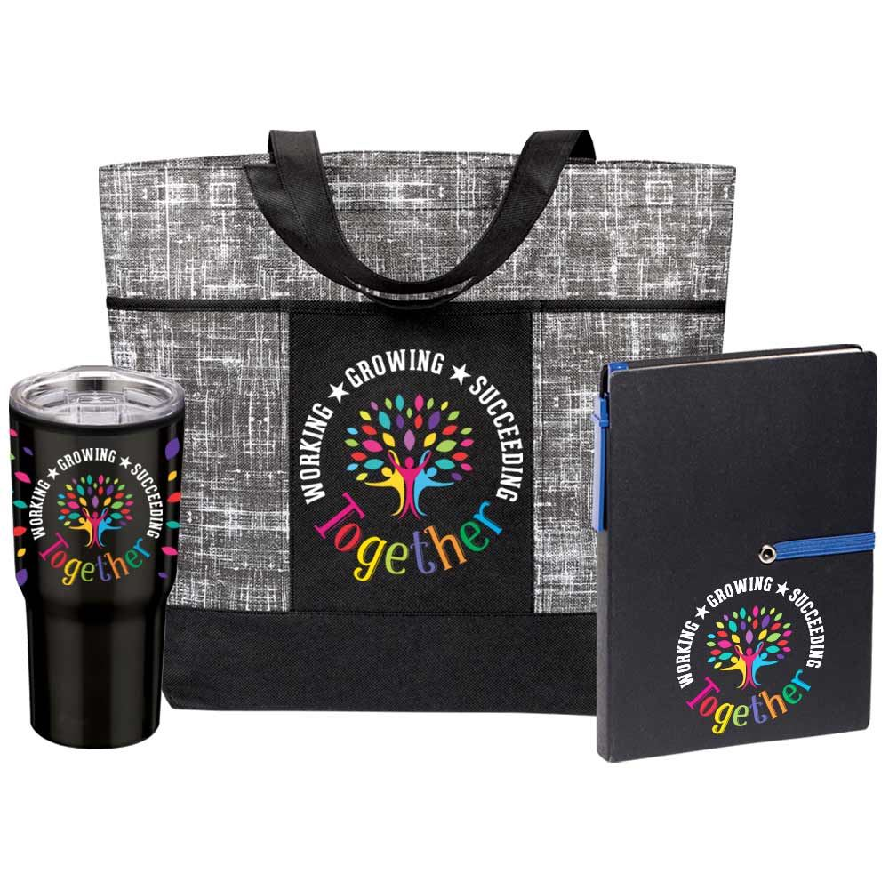 Working, Growing, Succeeding Together Essential Trio Gift Set