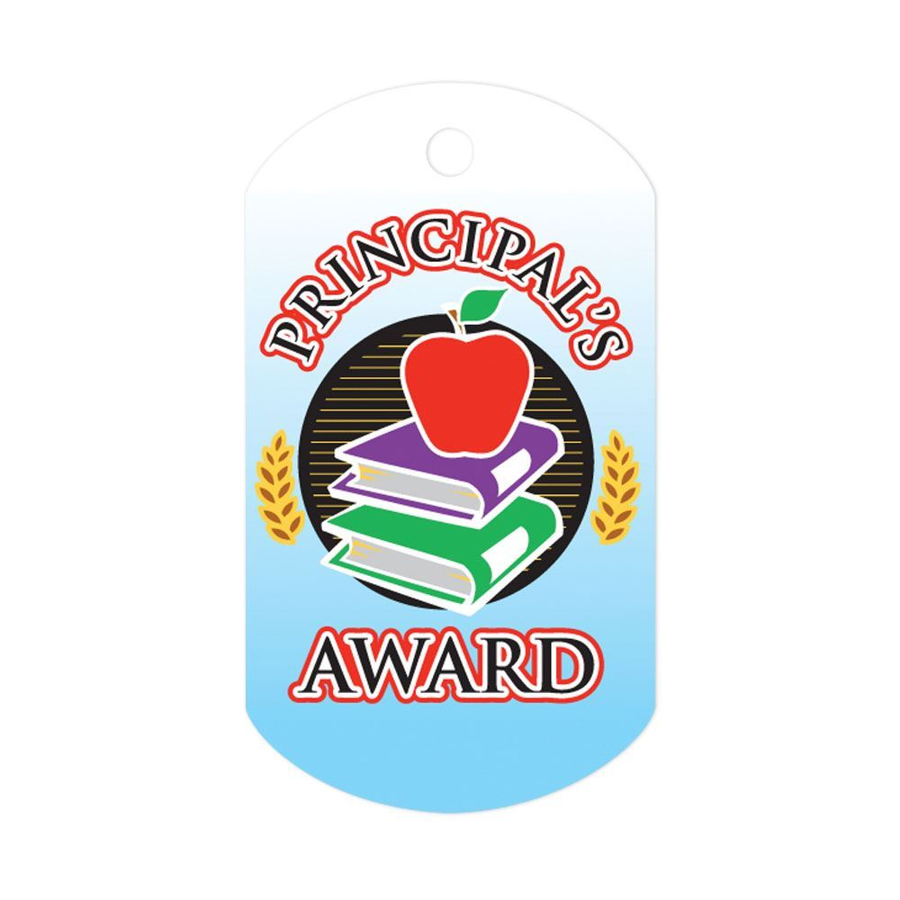 Principal's Award Tags With 4
